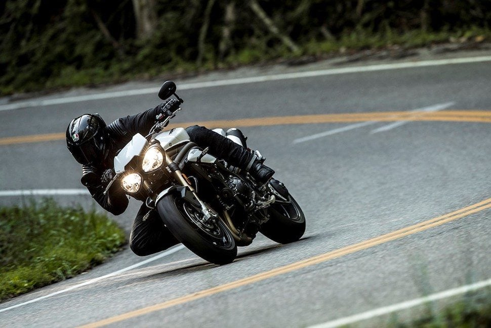 Triumph Street Triple ride