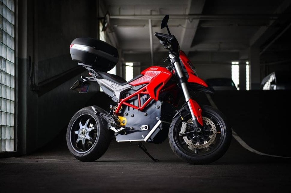 sharenovation ducati hypermotard ev