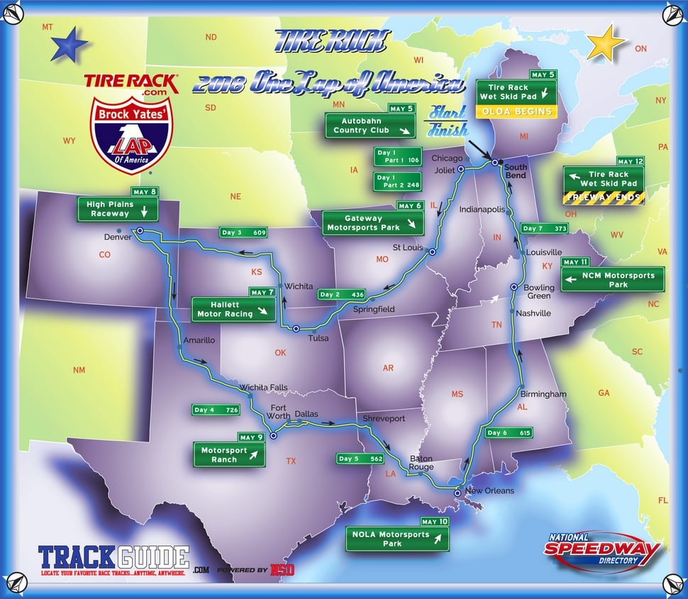 One LAP of America 2018